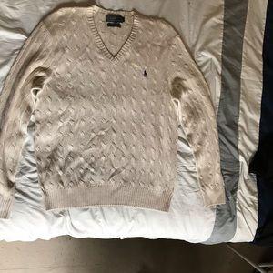 Polo Ralph Lauren Wool V Neck Pull Over Bundle